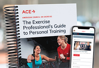 ACE Personal Trainer Product Launch